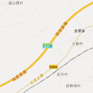 平阳交通地图图片