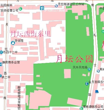 大庆西城区地图