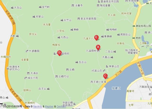 南京红山森林动物园导游图