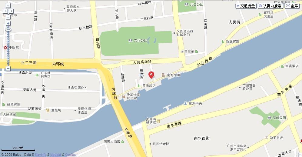 广州香江野生动物园导游图