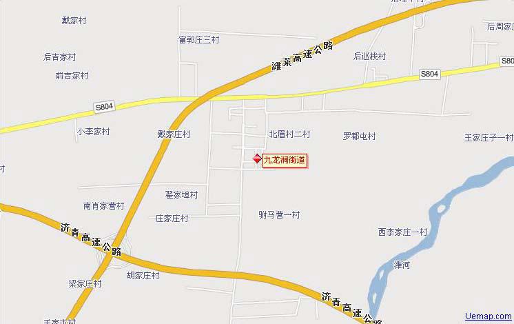 广州莲花山风景区导游图