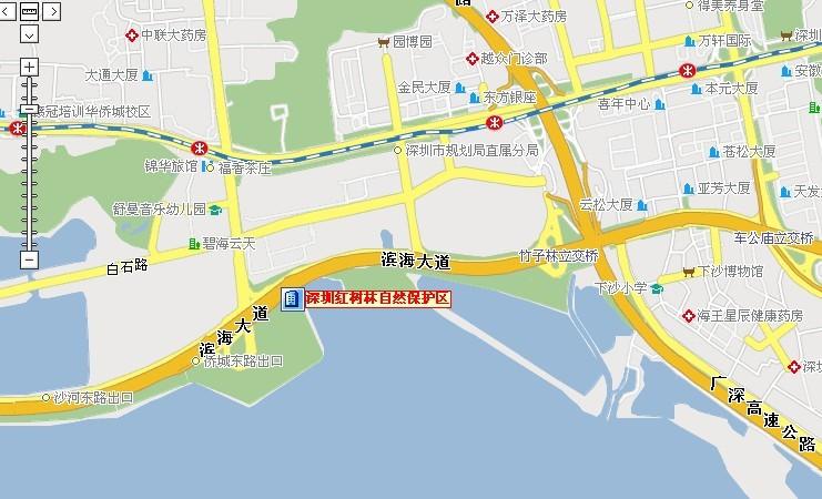【福田红树林自然保护区】地址