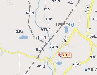 珍珠泉导游图展示