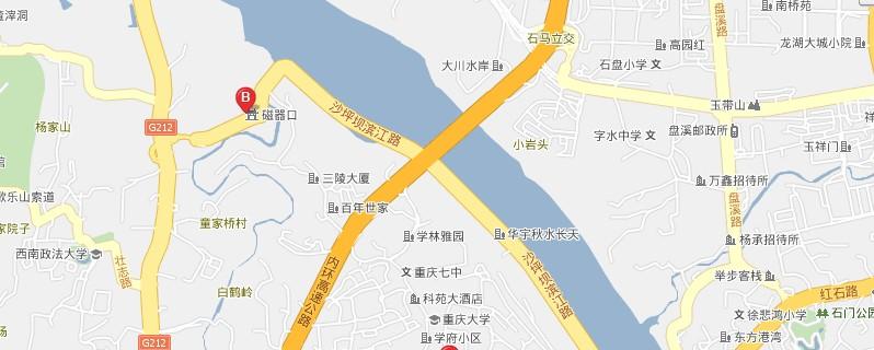 重庆动物园导游图
