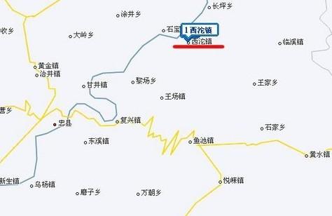 太姥山导游图