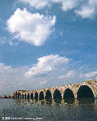 宝带桥,又名长桥,与卢沟桥,广济桥,五亭桥,赵州桥,安平桥,十字桥图片