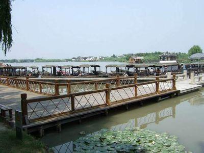 扬州市风景区 沙家浜