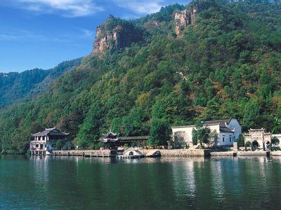 杭州地图 杭州市风景区 富春江小三峡