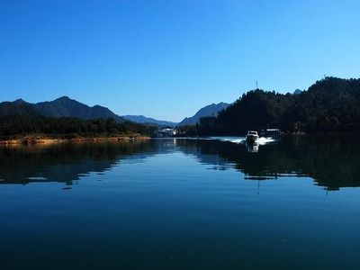 黄山国家森林公园太平湖景区