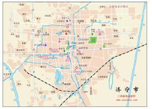 山东省济宁市中区地图查询,济宁市中区电子地图,济宁市中区行政