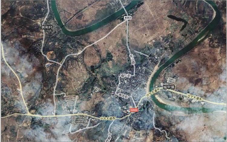 崇左宁明县电子地图,崇左宁明县行政地图全图,高清版大图