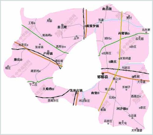 邯郸市邯郸县地图