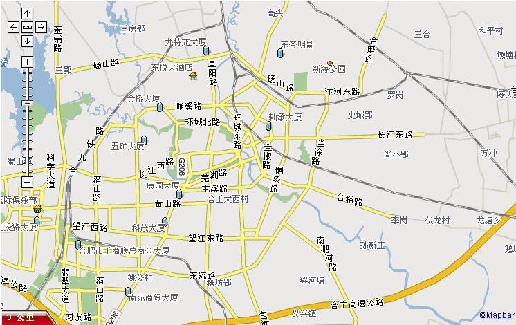 合肥市瑶海区地图