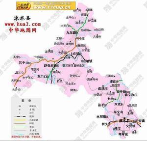 保定涞水县地图查询,保定涞水县电子地图,保定涞水县行政地图全
