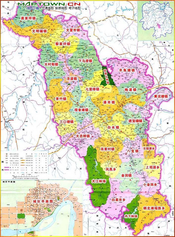 永州市祁阳县地图