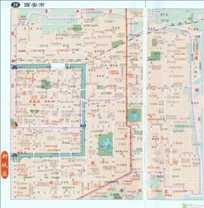 西安新城区电子地图,西安新城区行政地图全图,高清版大图