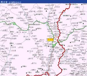 甘孜藏族自治州 >泸定县  泸定县位于中国四川省甘孜藏族自治州东南部